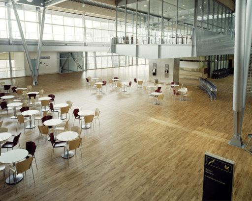 Junckers Solid Oak 2-Strip Flooring, Untreated, Classic, 129x14 mm Image 1