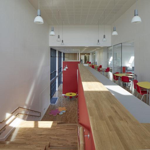 Junckers Solid Oak 2-Strip Flooring, Silk Matt Lacquered, Harmony, 129x14 mm Image 3