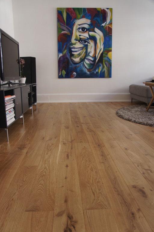 Junckers Solid Oak Wood Flooring, Ultra Matt Lacquered, Variation, 140x20.5 mm Image 3