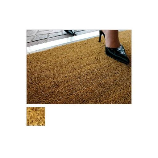 Kersaint Cobb Entrance Coir Matting, Natural, 17 mm Image 1
