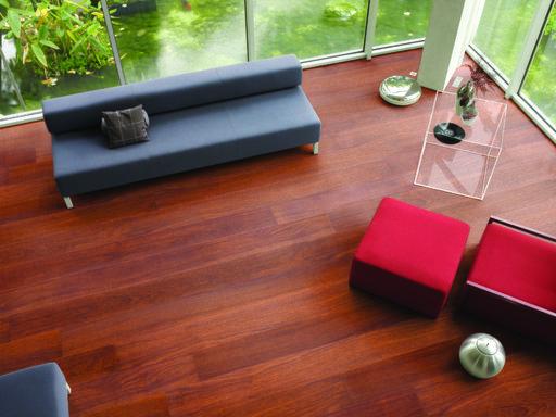 QuickStep LARGO Natural Varnished Merbau Planks Laminate Flooring 9.5 mm Image 2