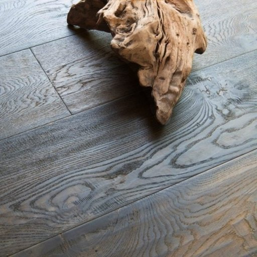 V4 Furrowed Hill Engineered Oak Flooring, Rustic, Stained, Handscraped, Distressed & Hardwax Oiled, 240x15x2200 mm Image 1