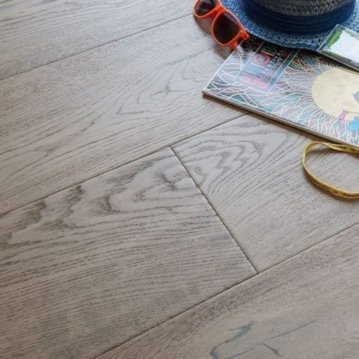 V4 Water Meadow Engineered Oak Flooring, Rustic, Stained, Handscraped, Distressed & Hardwax Oiled, 240x15x2200 mm Image 1