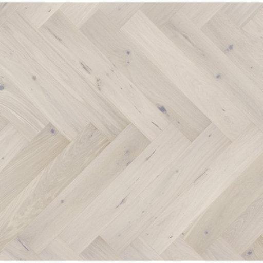 Kersaint Cobb Levana Herringbone Light Grey Engineered Flooring, Rustic, Matt Lacquered, 725x130x2.5 mm Image 1