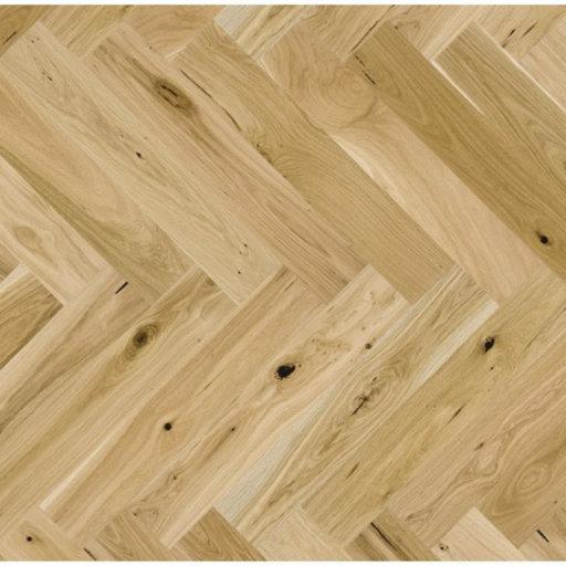 Kersaint Cobb Levana Herringbone Oak Engineered Flooring, Rustic, Natural Oiled, 725x130x2.5 mm Image 1