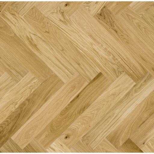 Kersaint Cobb Levana Herringbone Oak Engineered Flooring, Rustic, Matt Lacquered, 725x130x2.5 mm Image 1