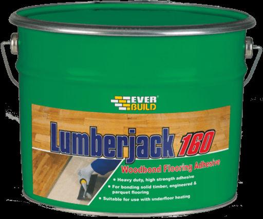 Lumberjack 160 Woodbond Flooring Adhesive, 10L Image 1