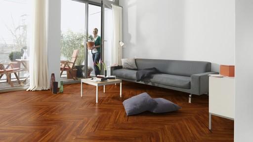 Boen Prestige Merbau Parquet Flooring, Live Natural Oiled, 10x70x590 mm Image 1