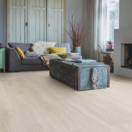 QuickStep Majestic Woodland Oak Light Grey Laminate Flooring, 9.5 mm Image 1