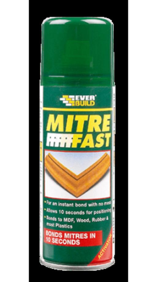 Everbuild Mitre Fast Activator Aerosol, 200 ml Image 1
