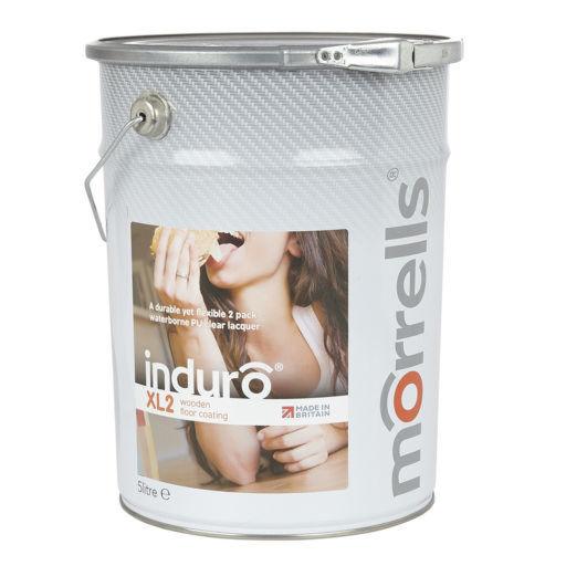 Morrells Induro XL2-90, Gloss Anti-Bacterial Waterbased Varnish, 5L Image 1