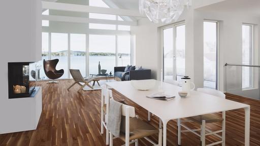 Boen Prestige Walnut American Parquet Flooring, Baltic, Oiled, 10x70x590 mm Image 2
