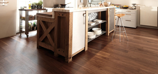 Boen Andante Walnut American Engineered Flooring, Protect Ultra, 138x3.5x14 mm Image 1