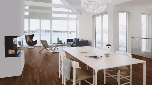 Boen Prestige Walnut American Parquet Flooring, Live Natural Oiled, 10x70x590 mm Image 1