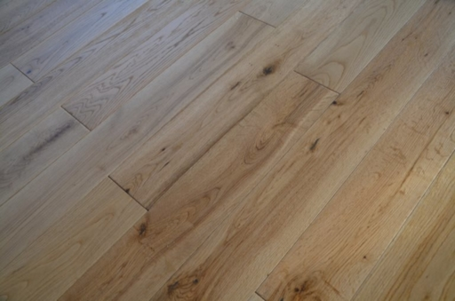 Tradition Engineered Oak Flooring, Natural, Brushed, Lacquered, 125x3x14 mm Image 1