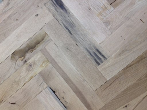 Oak Parquet Flooring Blocks, Rustic Extra, 70x350x20 mm Image 2
