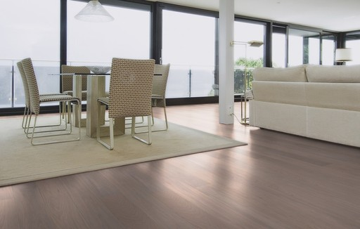 Boen Pearl Oak Engineered Flooring, White Stained, Unbrushed, Oiled, 138x3.5x14 mm Image 1