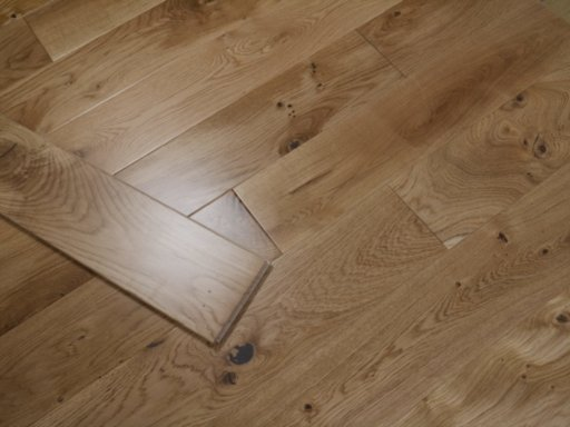 Tradition Solid Oak Flooring, Lacquered, 150x18 mm Image 1