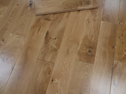 Tradition Solid Oak Flooring, Lacquered, 150x18 mm Image 2
