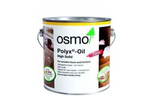Osmo Polyx-Oil Hardwax-Oil, Tints, White, 0.75L Image 1