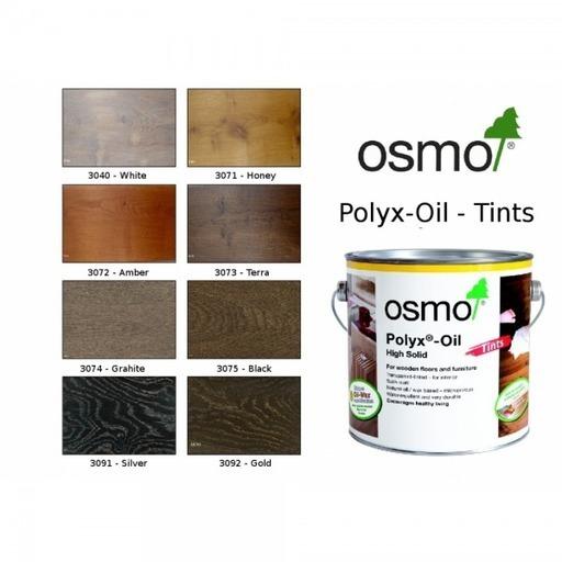 Osmo Polyx-Oil Hardwax-Oil, Tints, White, 0.75L Image 3