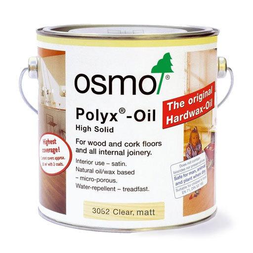 Osmo Polyx-Oil Hardwax-Oil, Original, Matt Finish, 0.75L Image 1
