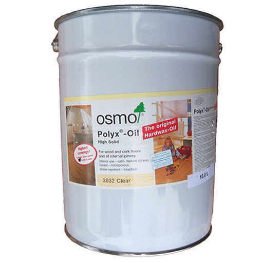Osmo Polyx-Oil Hardwax-Oil, Rapid, Matt Finish, 10L Image 1