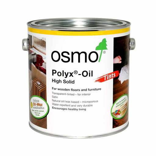 Osmo Polyx-Oil Hardwax-Oil, Tints, Graphite, 2.5L Image 1