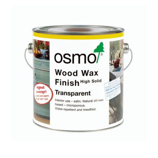 Osmo Wood Wax Finish Transparent, Mahogany, 2.5L Image 1