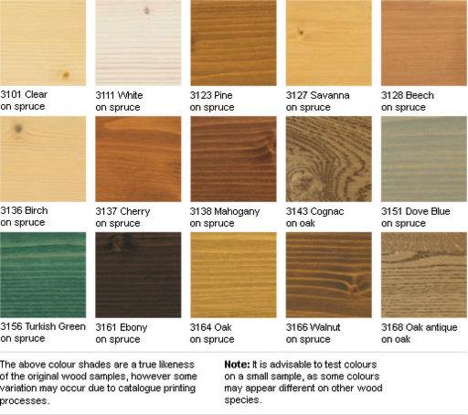Osmo Wood Wax Finish Transparent, Ebony, 2.5L Image 2
