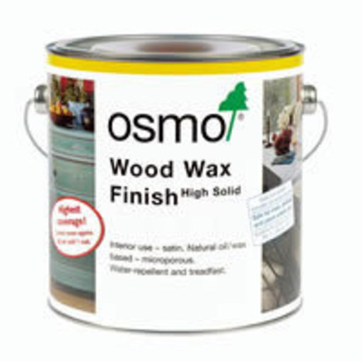 Osmo Wood Wax Finish Transparent, Ebony, 0.75L Image 1
