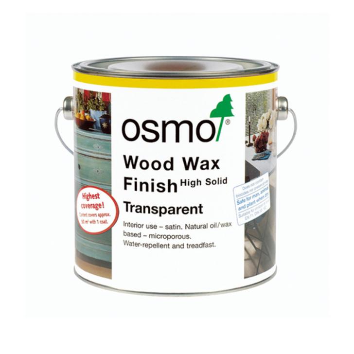 Osmo Wood Wax Finish Transparent, Walnut, 2.5L Image 1
