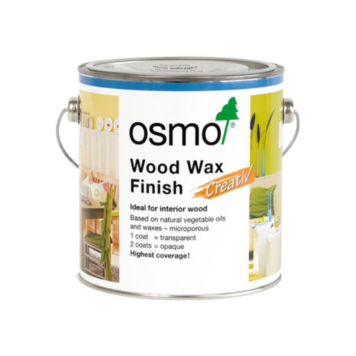 Osmo Wood Wax Finish Creative, Snow , 2.5L Image 1