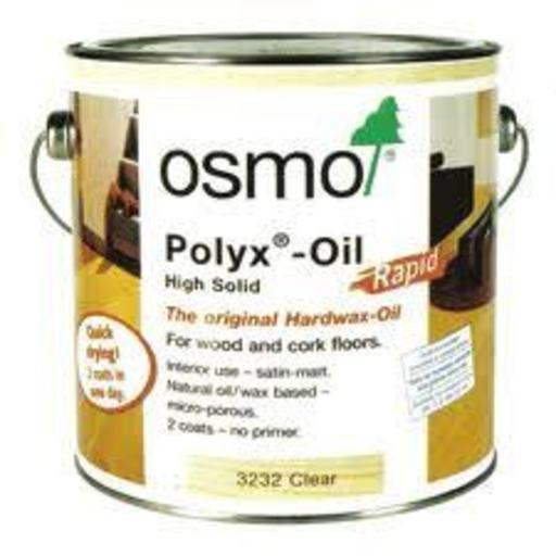 Osmo Polyx-Oil Hardwax-Oil, Rapid, Satin Finish, 0.75L Image 1