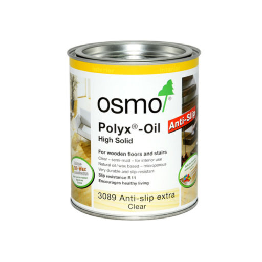Osmo Anti-Slip Decking Oil, Satin, 2.5L Image 1