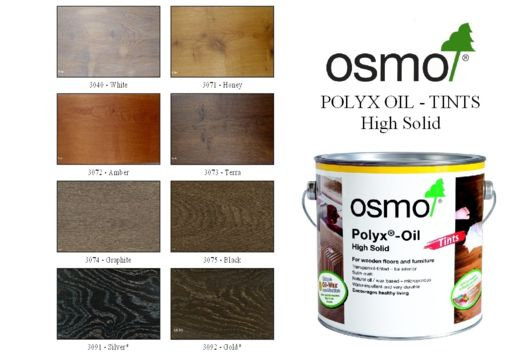 Osmo Polyx-Oil Hardwax-Oil, Effect Silver, 0.75L Image 2