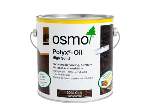 Osmo Polyx-Oil Hardwax-Oil, Effect Gold, 2.5L Image 1