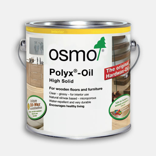 Osmo Polyx-Oil Hardwax-Oil, Original, Semi Matt Finish, 0.75L Image 1