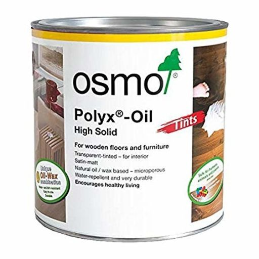 Osmo Polyx-Oil Hardwax-Oil, Tints, Amber, 2.5L Image 1
