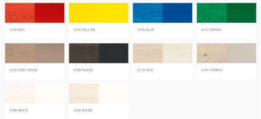 Osmo Wood Wax Finish Transparent, Blue, 0.125L Image 3