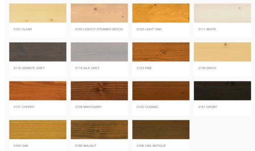 Osmo Wood Wax Finish Transparent, Granite Grey, 0.125L Image 2