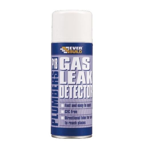 P18 Plumbers Gas Leak Detector, 400 ml Image 1