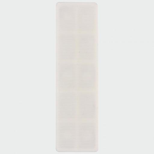 Flat Packers, White, 100x28x3 mm, 200 pcs Image 1