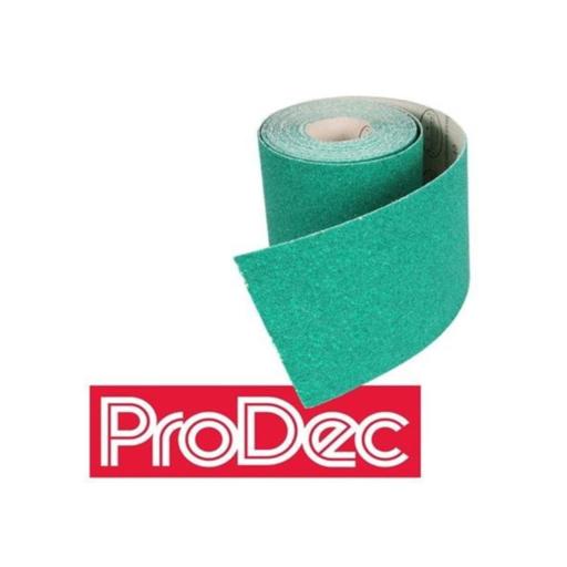 ProDec Sanding Paper, Aluminium Oxide, 180G, 5m Image 1