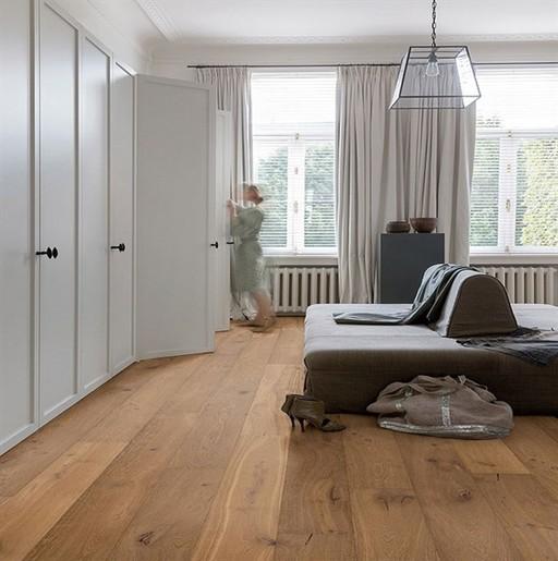 QuickStep Palazzo Cinnamon Oak Engineered Flooring, Extra Matt Lacquered, 1820x190x14 mm Image 1