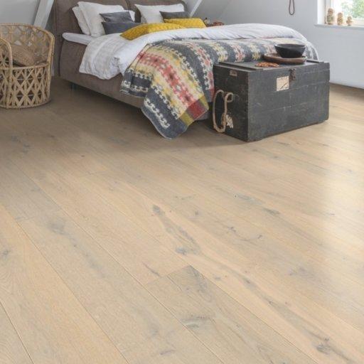 QuickStep Palazzo Glacial Oak Engineered Flooring, Extra Matt Lacquered, 1820x190x14 mm Image 1