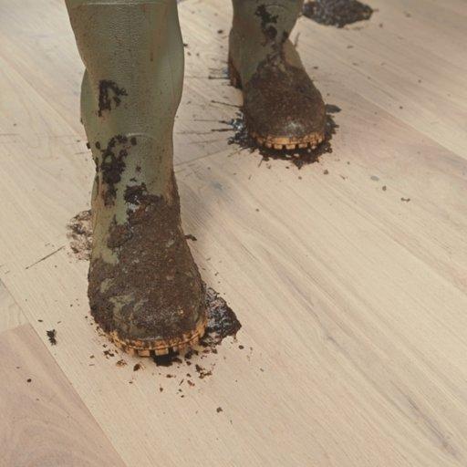 QuickStep Palazzo Glacial Oak Engineered Flooring, Extra Matt Lacquered, 1820x190x14 mm Image 2