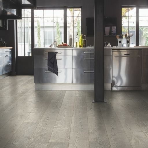 QuickStep Palazzo Concrete Oak Engineered Flooring, Oiled, 1820x190x14 mm Image 1