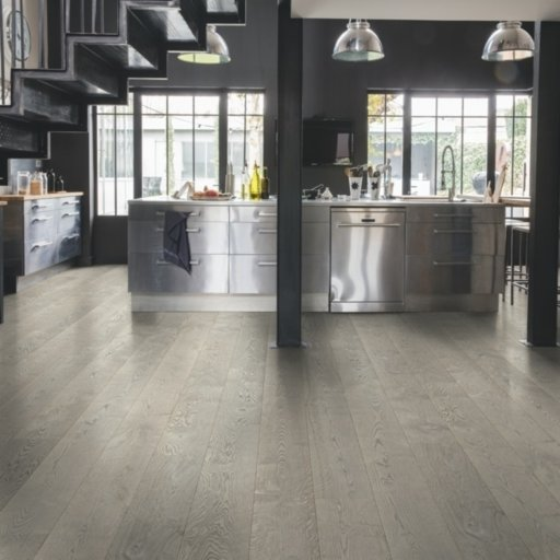 QuickStep Palazzo Concrete Oak Engineered Flooring, Oiled, 1820x190x14 mm Image 2