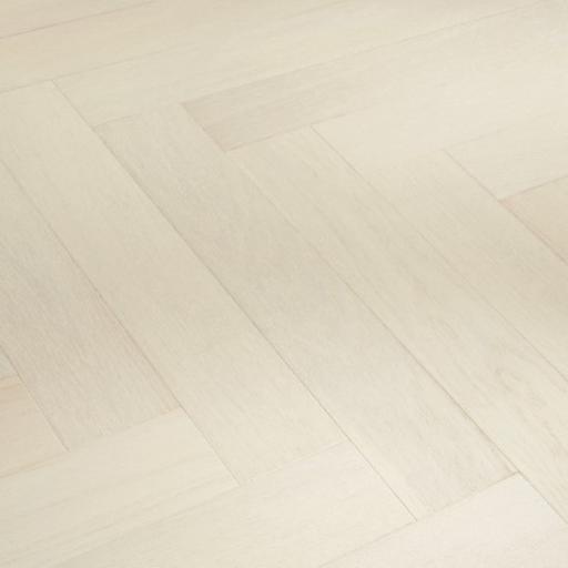 Kersaint Cobb Providence Herringbone White Oak Engineered Flooring, Rustic, Matt Lacquered, 95x10.5x570 mm Image 1